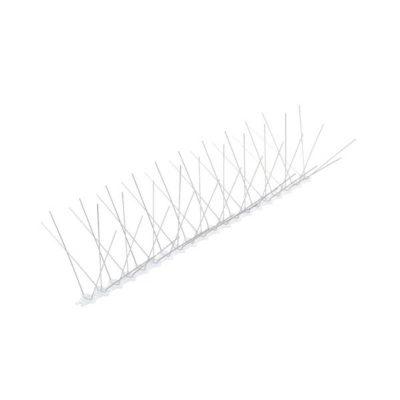 דוקרן קלשון להרחקת יונים | בסיס פוליקרבונט 5 קוצים