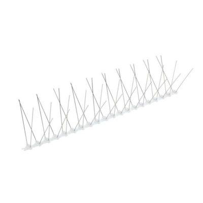 דוקרן W להרחקת יונים | בסיס פוליקרבונט 4 קוצים